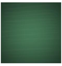 Blank green chalkboard background vector