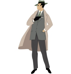1950s man vector image