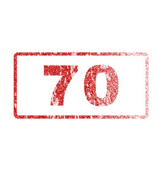 70 rubber stamp vector
