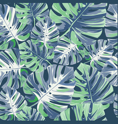 Exotic trendy seamless pattern tropical vector