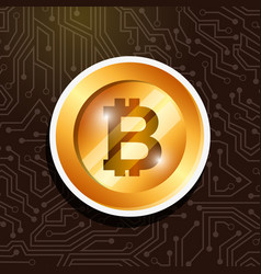 People bitcoin related vector