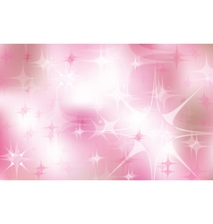 Pink stars vector