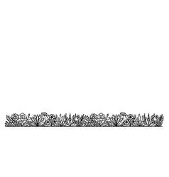 repeat garden 2 vector image