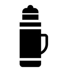 Thermo mug vector