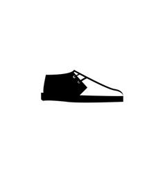 trainers shoes icon vector image