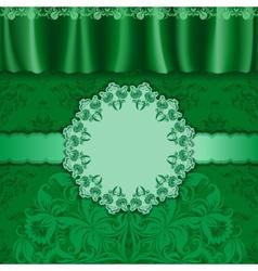 Elegant template luxury invitation vector image vector image