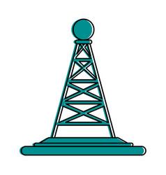 Antenna telecommunication icon image vector