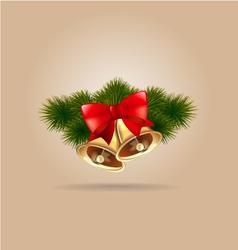 bells christmas vector image