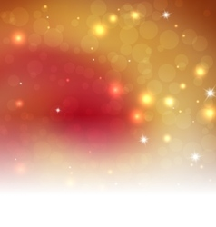 Orange Bright Abstract Christmas Background With vector image vector image
