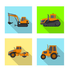 build and construction logo vector image