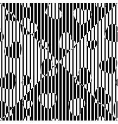 Chaotic backdrop hearts vector