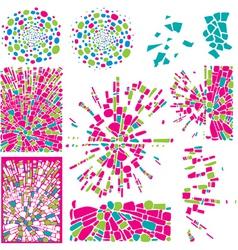Colorful design elements vector