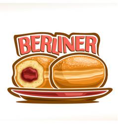 German berliner vector
