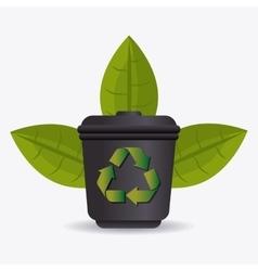 Green energy ecology design vector image