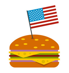 Hamburger icon isolated vector