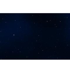 night sky graphic design vector image