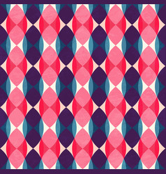 Retro mosaic pattern vector