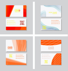 Simple business card with logo or icon for your vector