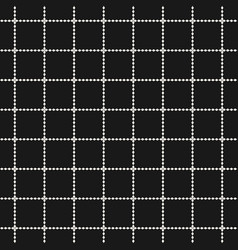 square grid geometric seamless abstract pattern vector image