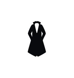 isolated textile icon turtleneck element vector image
