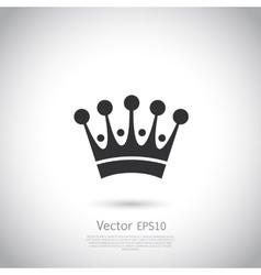 Crown icon or logo vector image