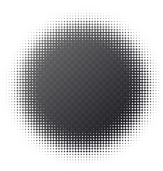 abstract halftone background black and vector image