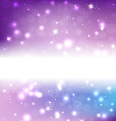Bright Blue Abstract Christmas Background With vector image