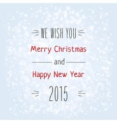 Christmas typography vector