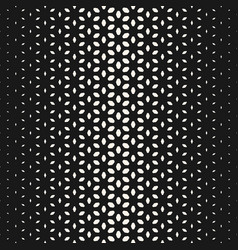 halftone texture monochrome seamless pattern vector image