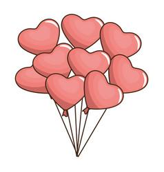 heart valentine love vector image