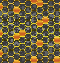 honeycomb background two vector image