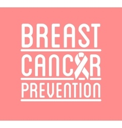 International Day of Breast Cancer Awareness vector image