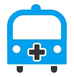 Medical Bus Icon vector image