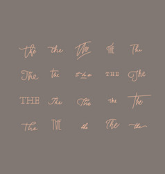 minimalist style symbol the vector image
