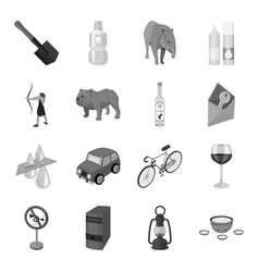 mongolia transport computer rocks and other web vector image vector image