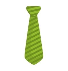 Necktie icon suit male part design vector