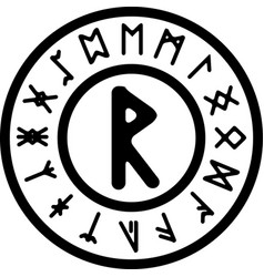 Rad rune vector