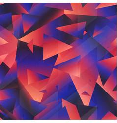 Retro purple color triangle pattern vector