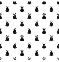 Traditional bavarian dress pattern vector