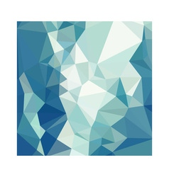 Turquoise Green Abstract Low Polygon Background vector