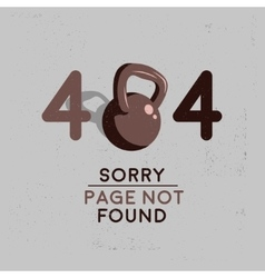 Error 404 Sorry Page Not Found Image vector image