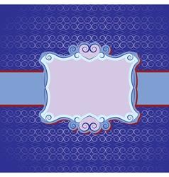 seamless invitation vector image