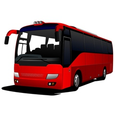 Al 0431 city bus vector