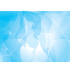 Blue background watercolor painting vector image vector image