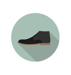 shoe flat icon vector image