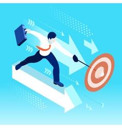 Ambitious business change 60 Job Ambitions concept vector