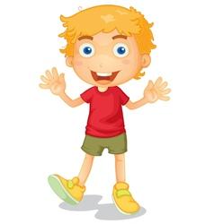 Cartoon Young Boy vector image