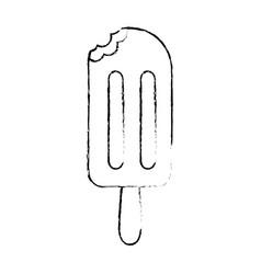 delicious ice cream icon vector image