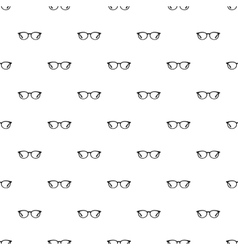 Glasses pattern simple style vector