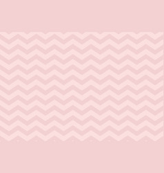 horizontal pastel pink chevron textured pattern vector image